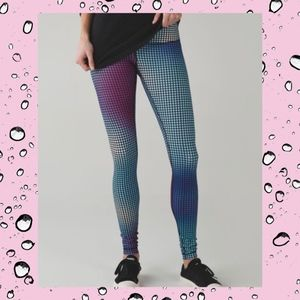 Lululemon Wunder Under Pant III Cosmic Dot Size 4